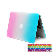 Matte laptop Hard Cover Case For Apple Macbook Air  Pro Retina Touch Bar 11 12 13 15 inch Laptop bag for MacBook pro case