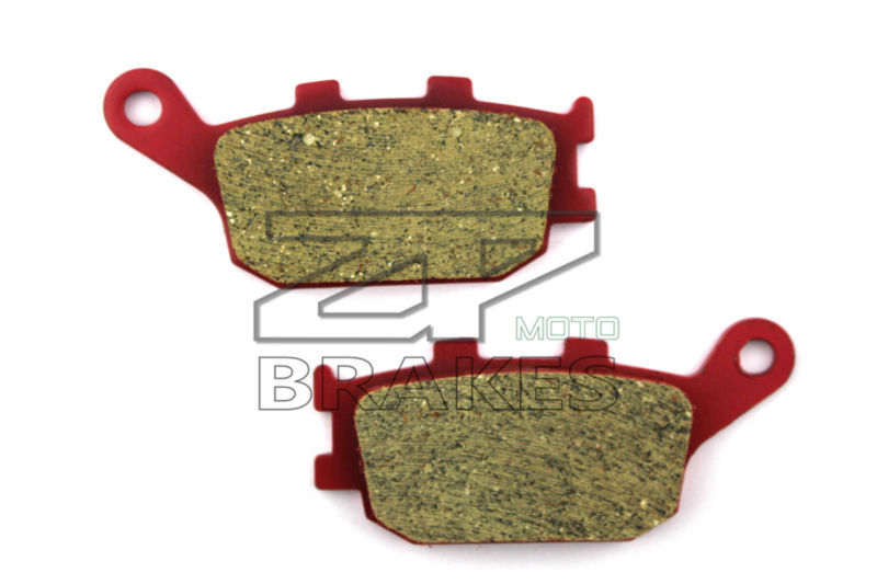 Motorcycle parts Ceramic Brake Pads Fit HONDA CB 500 4 (non ABS) 2004 Rear OEM New Red Composite Free shipping