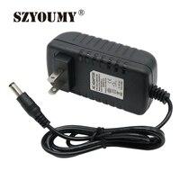 SZYOUMY США Plug DC 12 В 3A Мощность адаптер переменного тока 100 В 240 В до 12 В 36 Вт питания трансформатор с зеленым индикатором для Kurt только