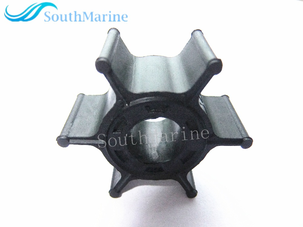 Water Pump Impeller For Yamaha 2-Stroke 6HP 8HP Outboard Motor Parts 6G1-44352-00-00 6G1-44352-00 18-3066 , Free Shipping