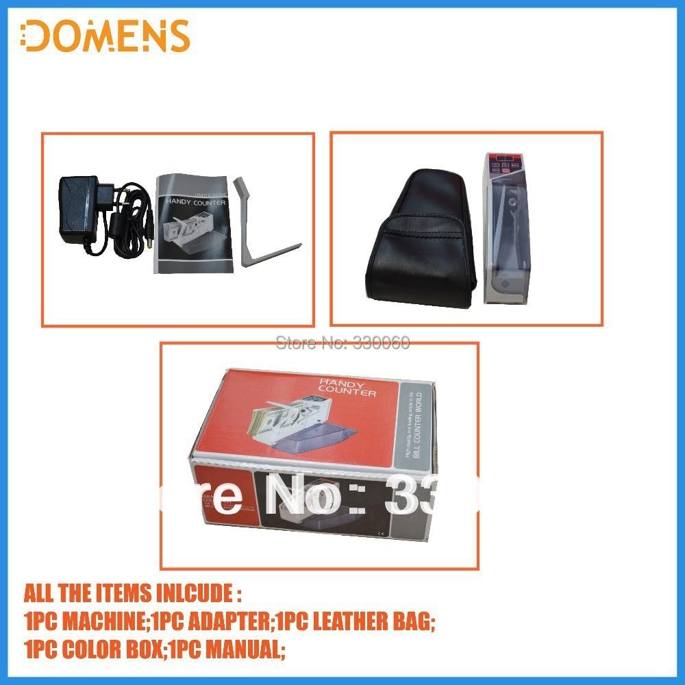 Портативный счетчик банкнот DOMENS Counter V40