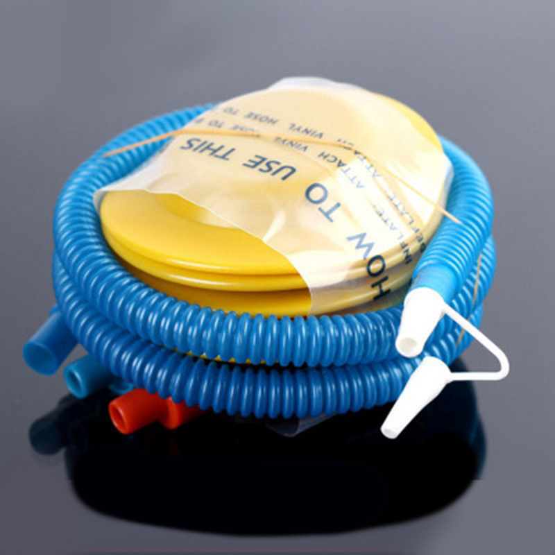 Inflator Pedal Pump For Inflatable Circle Swimming Ring Pool Toys Tools