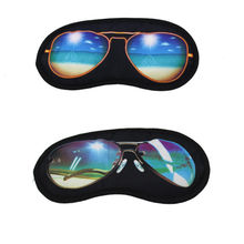 Travelling Utility Sleep Sunglasses Shade Eye Cover rest eye mask travel Sleeping Aid Fatigue Relieve Travel Accessories cheap 20 1cm Cloth + Cotton Cotton Fabric 10Q25 8 9cm Packing Organizers ISKYBOB Solid Sleeping Eye Mask 20 1cm * 8 9cm 7 91inch*3 50inch