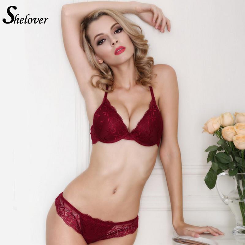 shelover sexy charming underwear women bra set vs victoria lingerie set luxury vintage lace. Black Bedroom Furniture Sets. Home Design Ideas