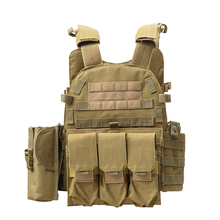 6094 Outdoor Tactical Vest For Hunting Airsoft Paintball Sport Military Army Body Armor Protection Vest Tactical Equipment adjustable tactical molle vest military equipment airsoft paintball hunting protection body armor usmc army vest