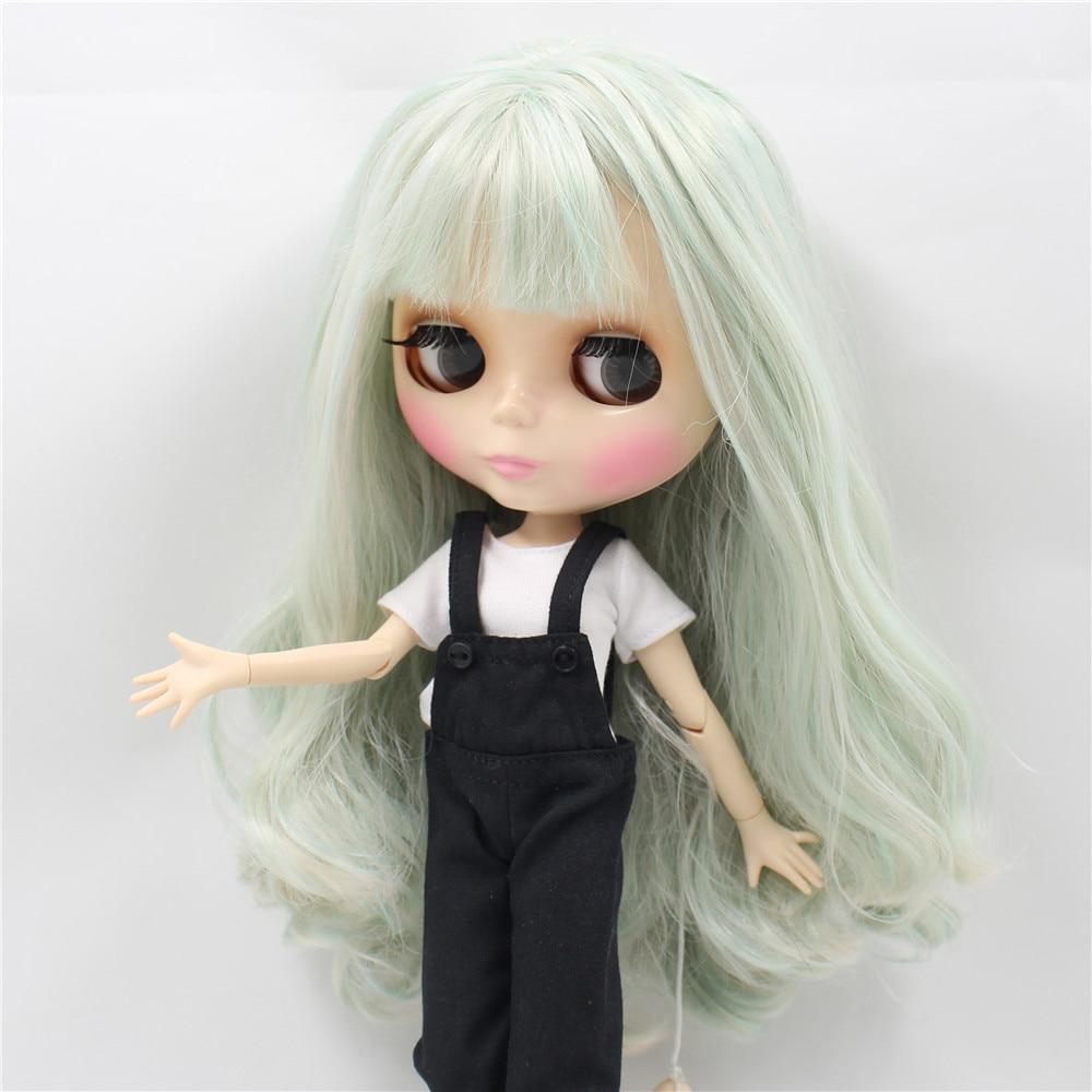 Neo Blythe Doll Black Rompers White Shirt 2