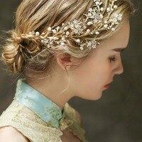 Châu âu Phong Cách Nữ Elegant Cưới Cô Dâu Vương Miện Mũ Nón Shiny Rhinestone Tiaras Dễ Thương Ngọt Ngào Tóc Trang Sức Quà Tặng