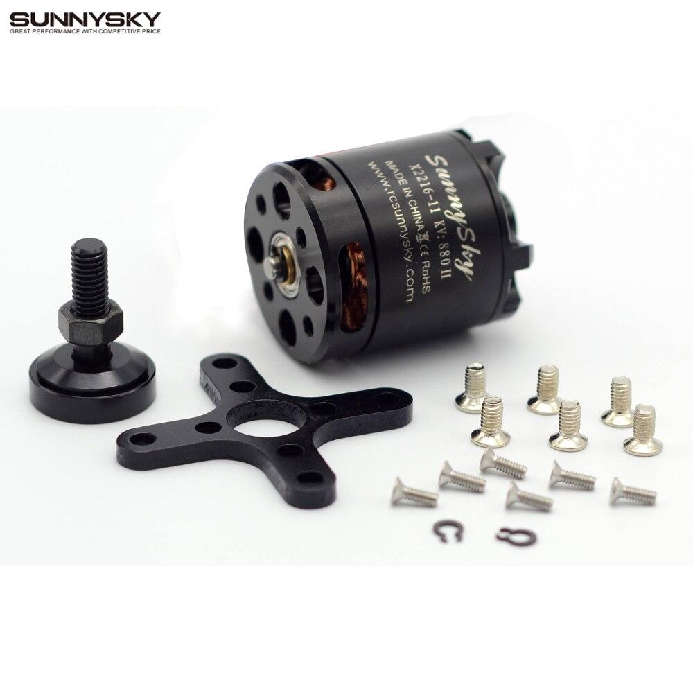 1pcs SUNNYSKY X2216 KV880 KV1100 KV1250 KV2400 Outrunner Brushless Motor For Multi-rotor Quadcopter 3D Airplane
