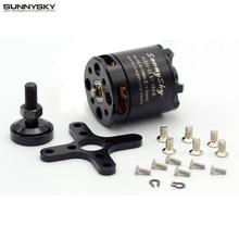 SUNNYSKY X2216 KV880 KV1100 KV1250 KV2400 Outrunner Brushless Para Multi rotor Quadcopter 3D Avião