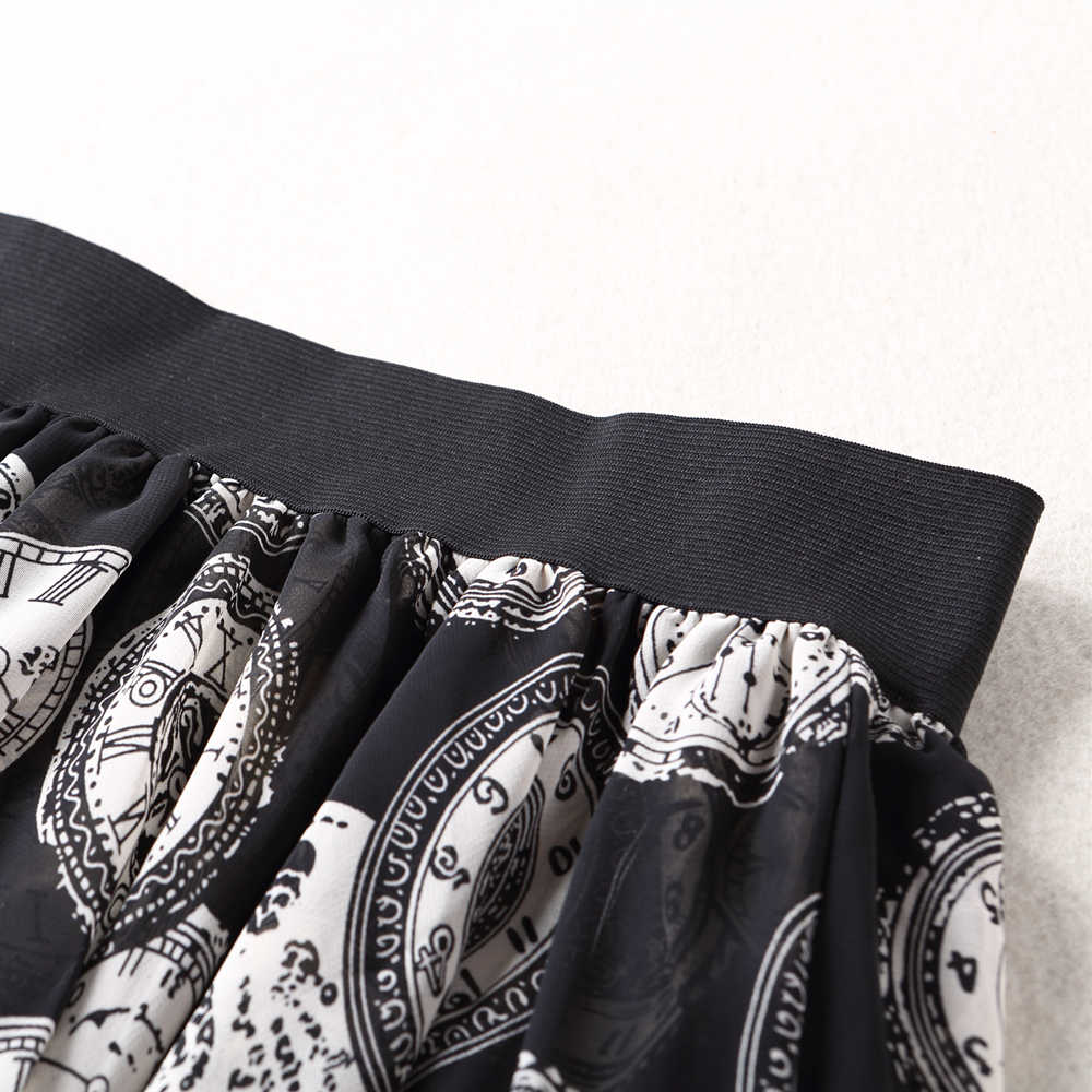 70398256684 ... 50% скидка летние леопардовые шифоновые юбки женские плюс длинные модные  с эластичной талией юбки с ...