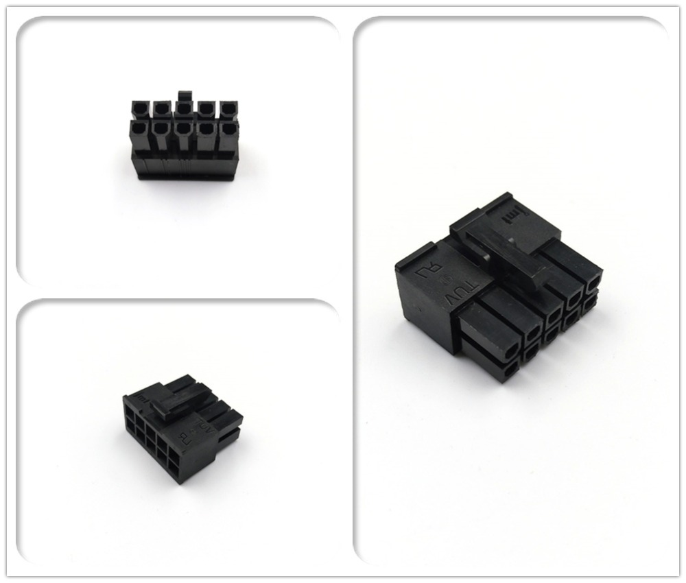 JMT PC Modular Power Supply 10Pin Male Connector Housing 4.2mm Pitch Spacing 5557 Type