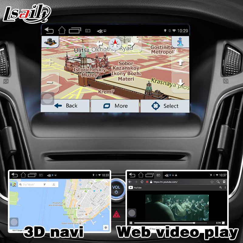 Android navigation box for Ford Focus Fiesta Kuga etc video interface box  SYNC 3 Carplay mirror link waze youtube yandex