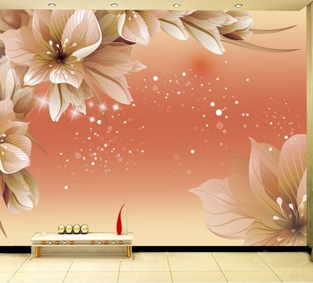 Buy custom dining wallpaper art wall for Large 3d wall art