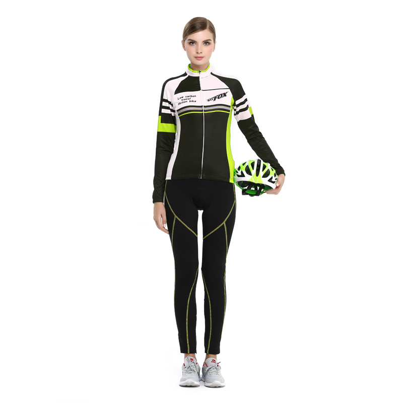 2017 Cycling Jersey Bike Cycling Winter Set Cycling Clothing Equipaciones Ciclismo Hombre 2017 Verano Cycling Jersey long Sleeve