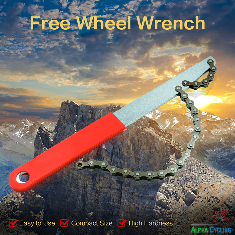 Bicycle Cassette Freewheel Remover Wrench Sprocket Chain Whip Repair Tool Hot sale