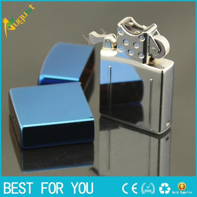 50pcs lot 2016 Male gift usb Cigar butane lighter torch jet windproof Arc Lighter blue ice