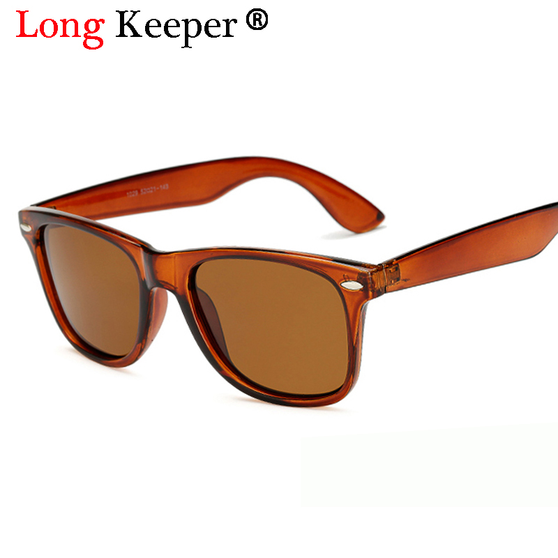 Long Keeper Brand Mens Polarized Sunglasses Women Square Mirror Sun Glasses Male Driving Classic Unisex Gafas Gafas UV400