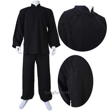 Customized Linen 18 Colours Buddhist Monk Shaolin Uniform Tai Chi Wing Chun Swimsuit Martial arts Gis