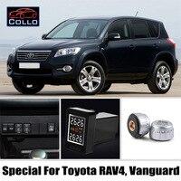 TPMS специально для Toyota RAV4/Авангард/Авто шины Давление мониторинга Системы внешних Датчики/DIY встроенный Установка