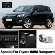 TPMS Special For TOYOTA RAV4 / Vanguard / Auto Tire Pressure Monitoring System Of External Sensors / DIY Embedded Installation