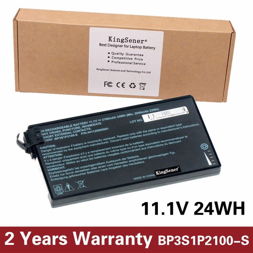 KingSener Neue BP3S1P2100-S Batterie für Getac V110 Robuste Notebook BP3S1P2100 441129000001 11,1 v 2100 mah/24WH
