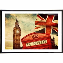 London Landscape Vintage Retro Posters And Prints Home Decoration Large Canvas Painting Modern Wall Art Picture