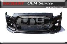 Carbon Fiber BSE Стиль Передний Бампер Подходит Для 2008-2013 Nissan R35 GTR
