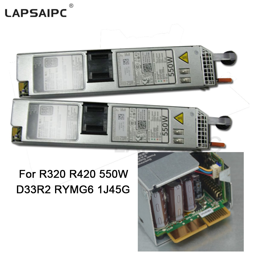 R320 R420 server power supply D550E DPS-550MB D33R2 RYMG6 1J45G Max 550W Power switching adapter