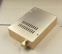 Tamaño de la carcasa: 160x55x230mm BZ1655 mini chasis AMPLIFICADOR DE POTENCIA DE ALUMINIO completo/amplificador de auriculares/decodificación DAC/carcasa de amplificador/caja DIY