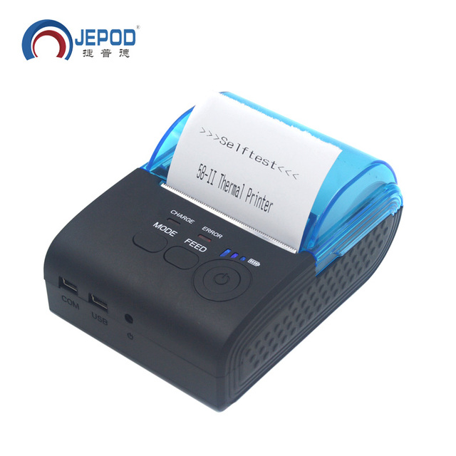 Portable Printer For Laptop Langria Portable Laptop Stand Desk Portable Clothes Steamer Nz Portable Fish Finder Sonar: JP 5805LYA Portable Mobile Bluetooth Thermal Printer USB