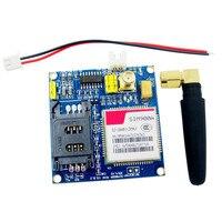 1 PCS Novo Kit de Extensão Sem Fio V4.0 SIM900A Módulo GSM GPRS Antena Board Testado Em Todo O Mundo Loja