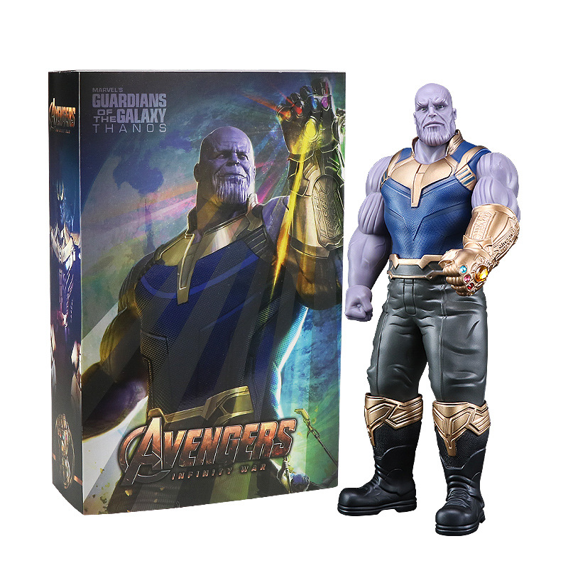 33CM Movie Guardians of the Galaxy Avengers 3 Infinity War Thanos Action Figure Toy Brinquedos Figurals Gift