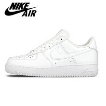 Original New Arrival Official Nike AIR FORCE 1 AF1 Unisex Women and Men Breathable Skateboarding Shoes Trainers