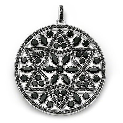 Black Ornament Pendant,Thomas Style Soul Fashion Good Jewerly For Women,2017 Ts Gift In 925 Sterling Silver,Super Deals