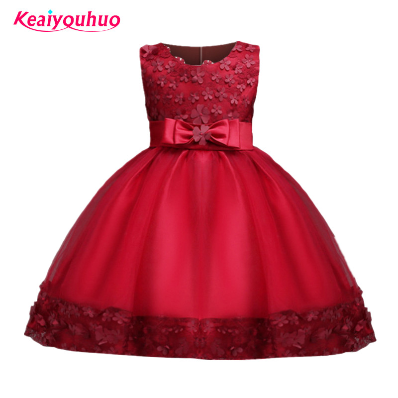 Baby Girls Dress Children Kids Dresses For Girls 1 3 4 5 6 7 8 10 Year Birthday Outfits Dresses Girls Evening Party Formal Wear new summer pink children dresses for girls kids formal wear princess dress for baby girl 3 8 year birthday party dress