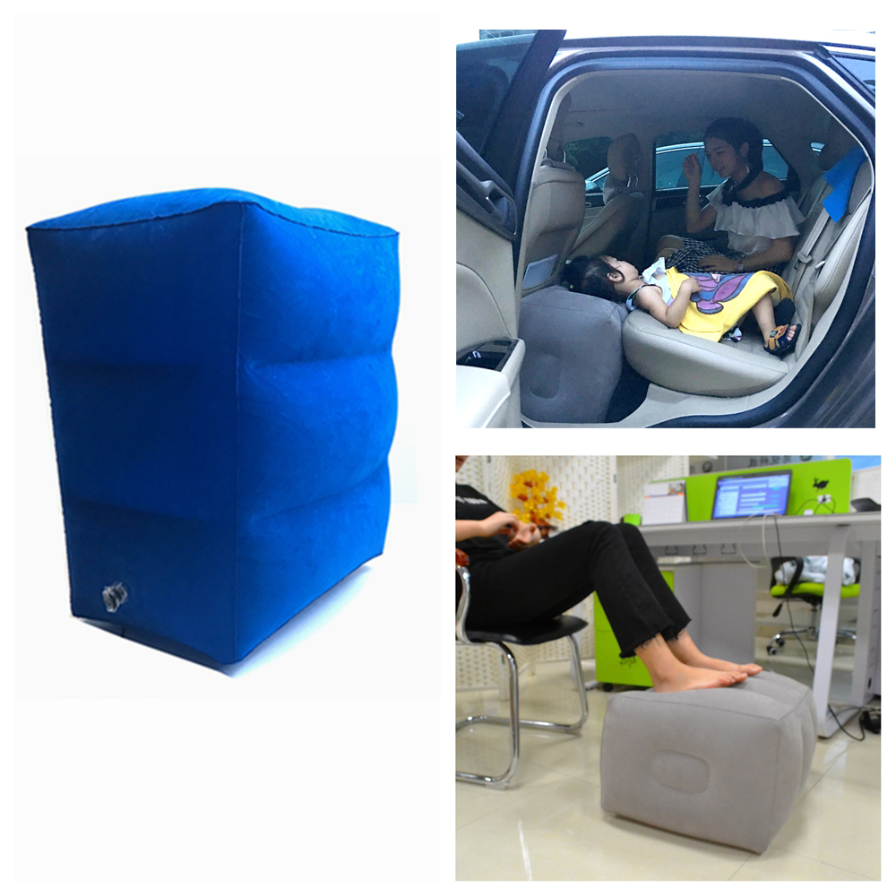 Inflatable furniture for adults - Airplane Pillow Inflatable Travel Footrest Pillow Flight Pillow For Kids And Adults Car Airplane Foot Pad