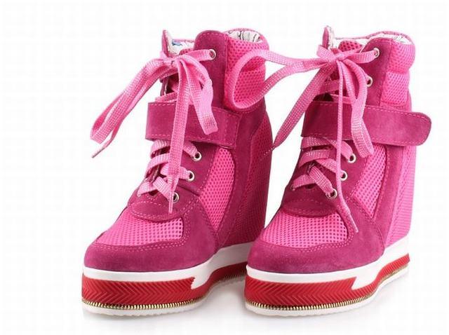 Women Wedge High Top Platform Sneakers