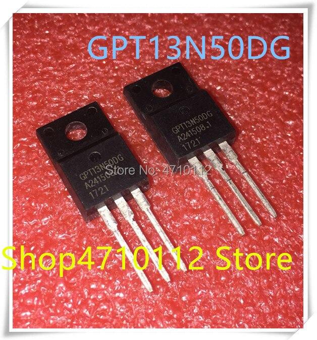 NEW 10PCS LOT GPT13N50DG GPT13N50 13N50DG TO 220F IC