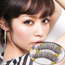 10 pairs natural false eyelashes fake lashes long makeup 3d mink lashes extension eyelash mink eyelashes for beauty недорого