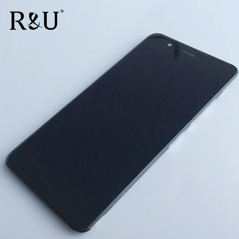 R&U high quality LCD Screen Display & Touch Digitizer Assembly with Frame For 5.2 Asus ZenFone 3 Max ZC520TL Replacement