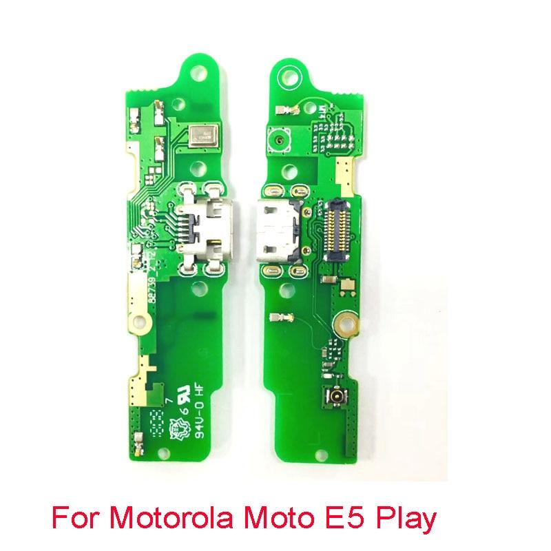 20 sztuk wymiana płyta portu USB do ładowania ładowarka złącze stacji dokującej wtyczka przewód elastyczny płaski z mikrofonem dla Motorola Moto E5 grać w Elastyczne kable do telefonów komórkowych od Telefony komórkowe i telekomunikacja na AliExpress - 11.11_Double 11Singles' Day 1