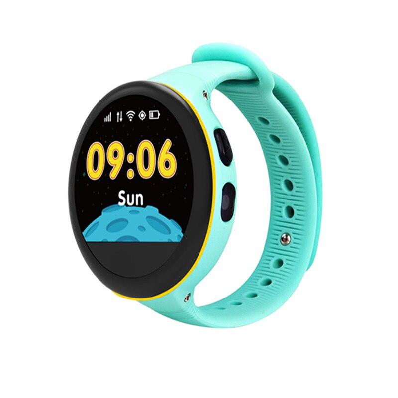 S668 Детские умные часы IP54 Водонепроницаемый круглый Экран GPS SOS ребенок дистанционного мониторинга наручные часы для IOS Android-смартфон