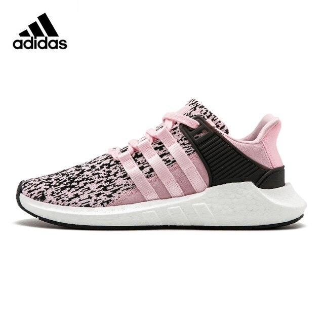 מתוחכם אדידס EQT BOOST 93/17 עדיין רוח נשים של נעלי ריצה, מקורי ספורט BD-41