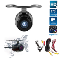Car Rear View Camera Auto Parking System HD Night Vision 170 Degree Wide Angle Waterproof Butterfly