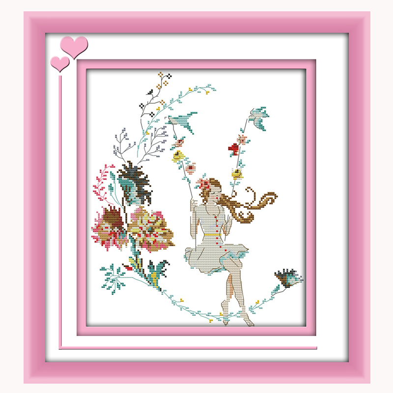 Best buy ) }}JoySunday counted cross stitch diy woman in the