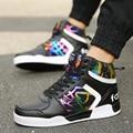 Nueva Primavera/Verano de Los Hombres Zapatos de Los Hombres Respirables Zapatos Casua Cordones de bota Zapatos de Hombre 2017 de Los Hombres de Moda Zapatos planos Zapatos Hombre