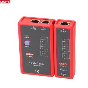 Image 1 - Probador de Cable UNI T UT681L HDMI, rastreador LAN, red automática, probador LED, Ethernet, teléfono, BNC, HDMI, herramienta de reparación
