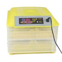 96 Eggs Poultry Incubator Intelligent Temperature Control Automatic Tray Bird Pet Chicken Brooder Hatcher Incubation Machine