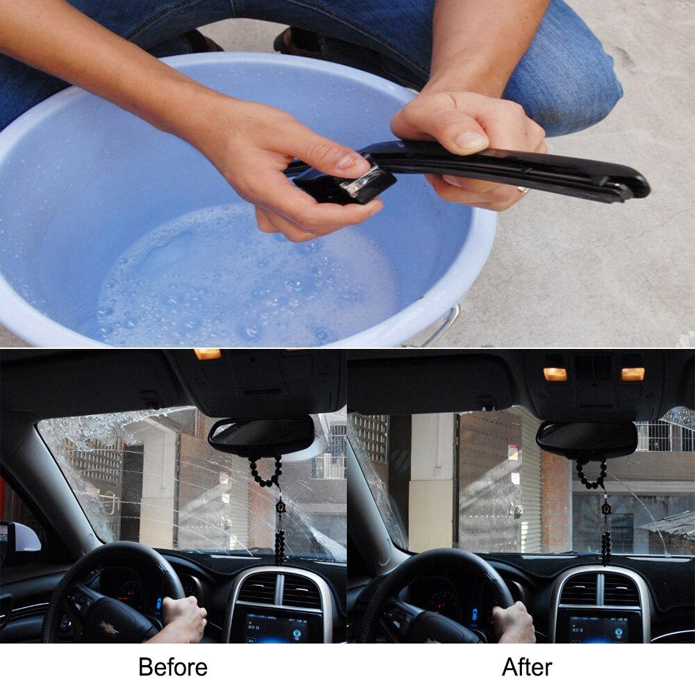 Car Wiper Blade Repair Tool Auto Windshield Wiper Wizard Blade Restorer Van Windscreen Cleaner Car-styling Wiper Cleaning Brush