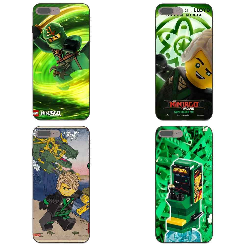 Luxe pour Galaxy C5 C7 J1 J2 J3 J330 J5 J6 J7 J730 2017 Ace Core Duo Max Mini Plus Prime Pro Cool Lego Ninjago impression Lloyd